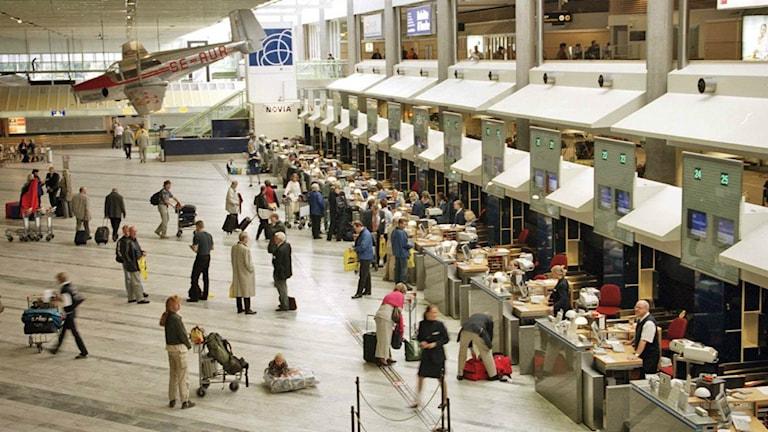 Landvetter flygplats.