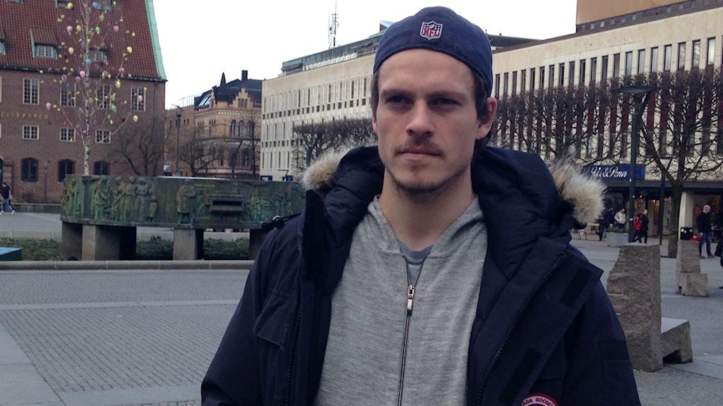Jörgen Horn trivs i sin nya hemstad