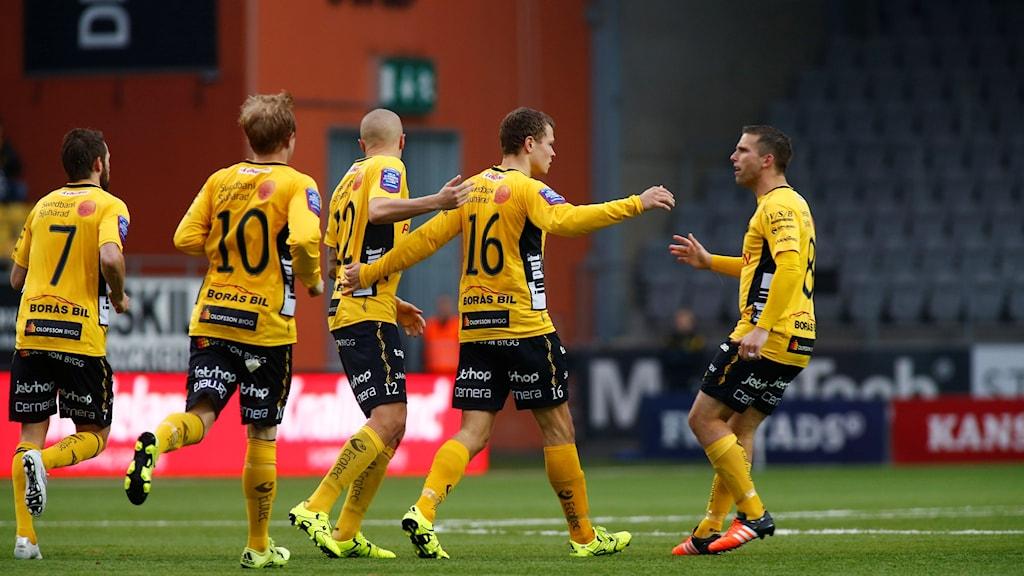 Bild från Elfsborgs sista match för säsongen 2015.