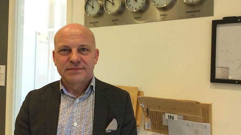 Stefan Eriksson, rektor Centrum för flerspråkigt lärande.