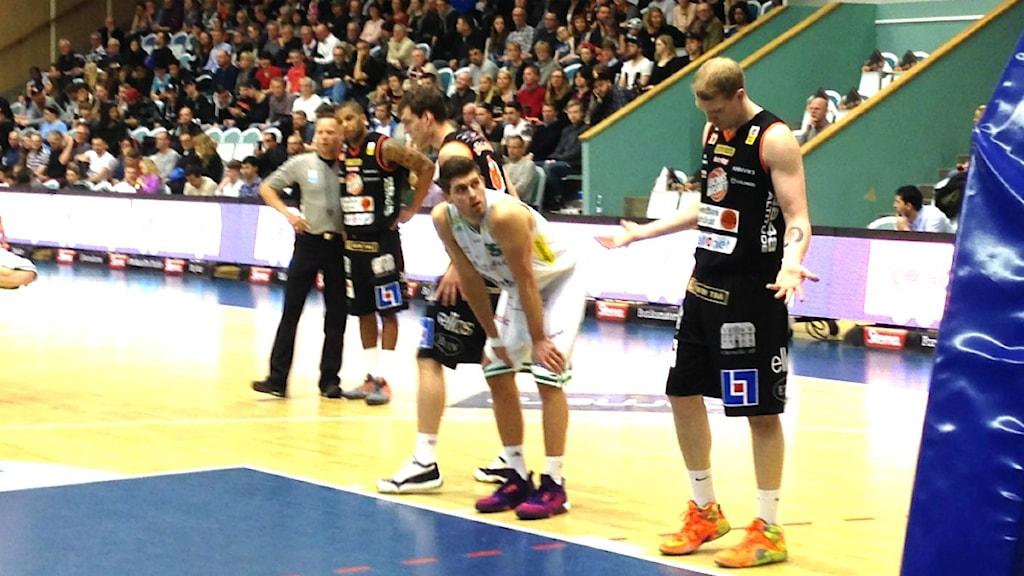 Borås Basket. Foto Kristoffer Lidén.