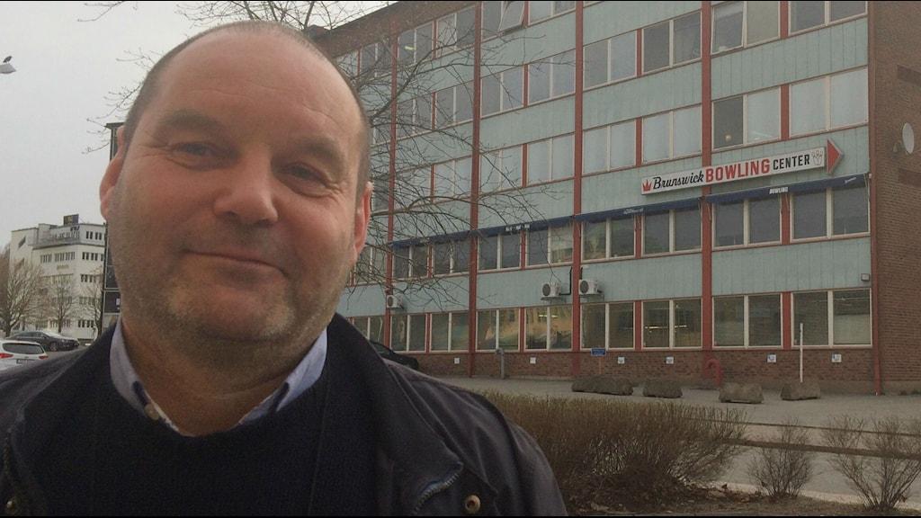 Fredrik Hjelm, stadsantikvarie i Borås.