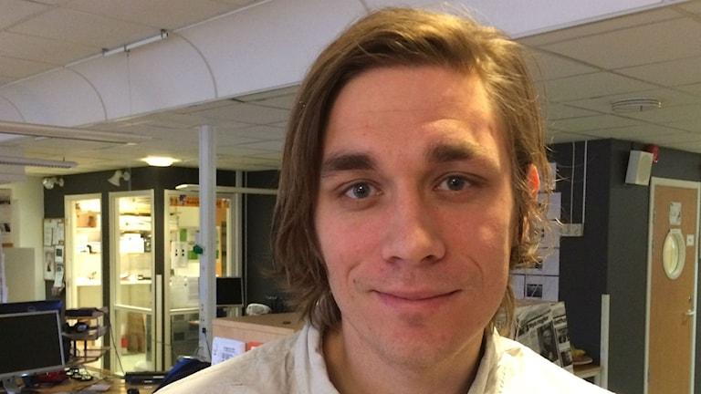 Markus Carlsson, Aktivitetskoordinator på Sahlgrenska sjukhuset i Göteborg.