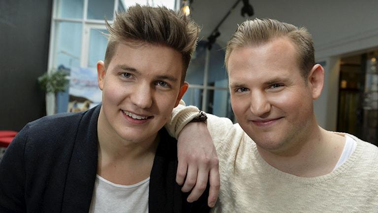Daniel och Emil Norberg.