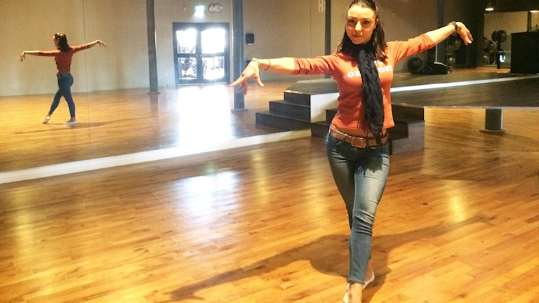 Ani Vasileva i danssalen