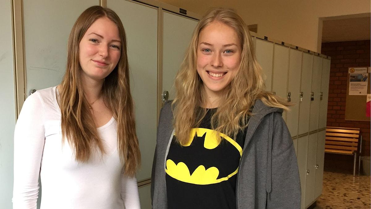Malin Johansson och Matilda Axelsson.