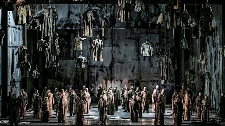Kören i Verdis opera Macbeth.