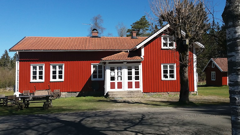 Morjhults gamla skola, Töllsjö.