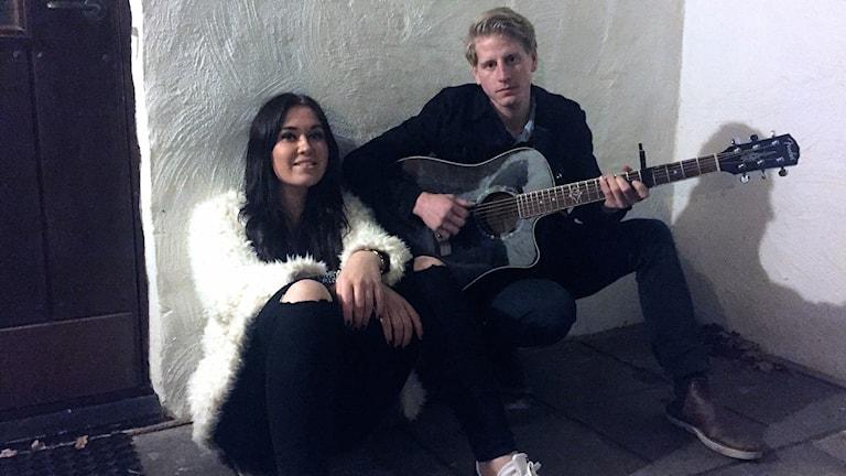 Caroline Hulander och Christian Magnusson