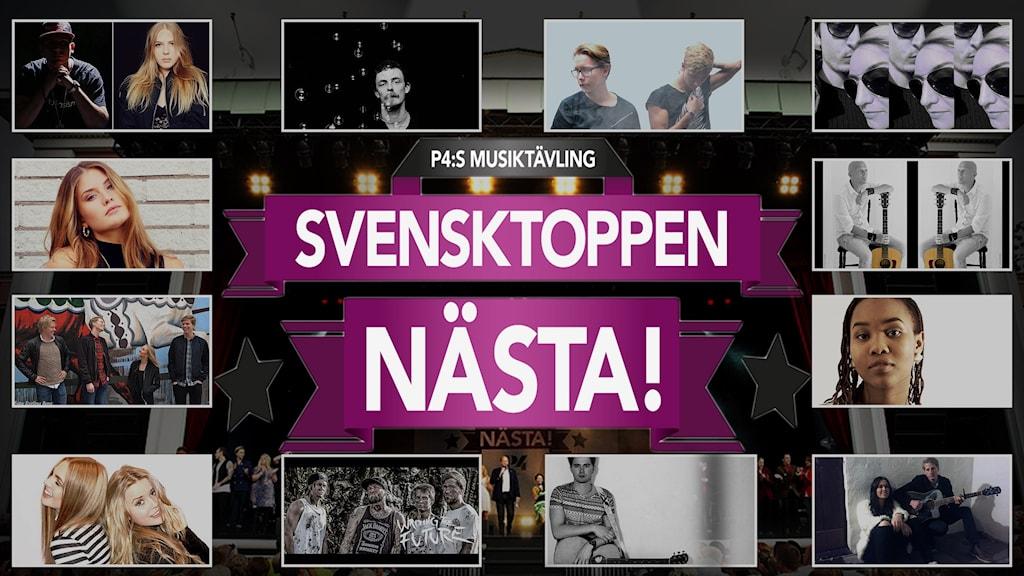 Årets sjuhäradsartister i Svensktoppen Nästa! 2016