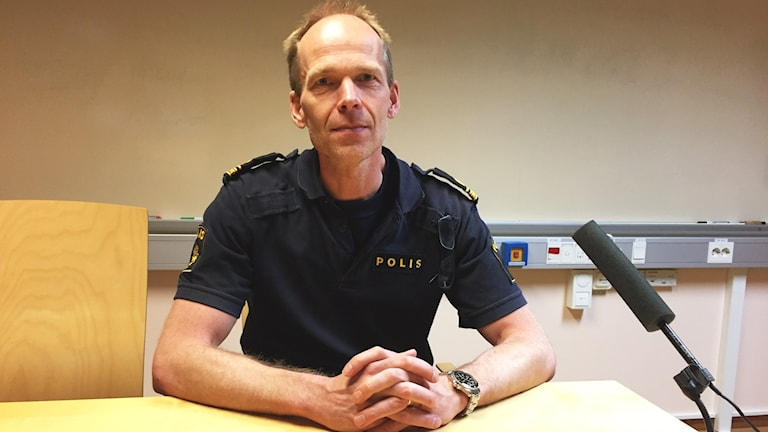 Jan Johansson utredningsbefäl vid boråspolisen.