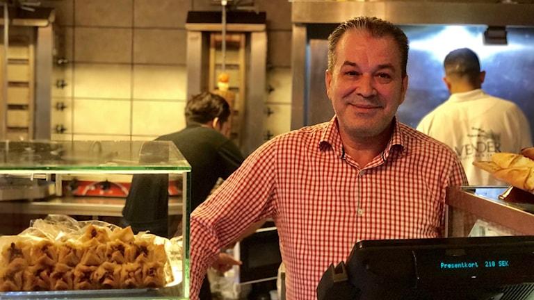 Emad Eldin i Restaurangen