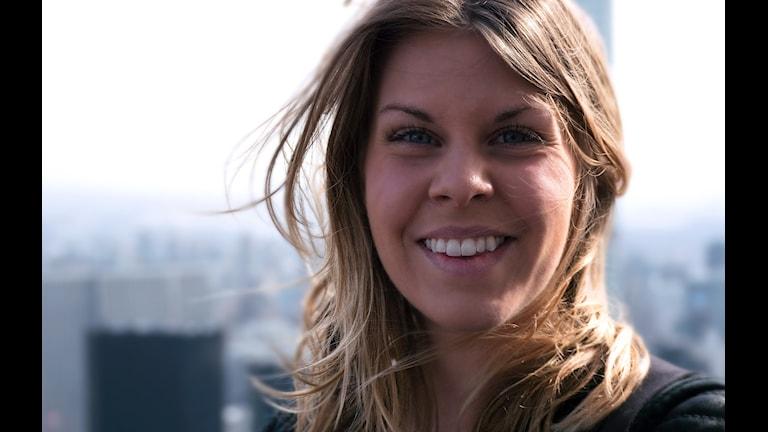 Emma Blomdahl från föreningen Tillsammans. Foto: Privat.