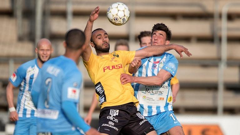 Elfsborgs Issam Jebali under hemmamötet med Eskilstuna tidigare denna säsong.