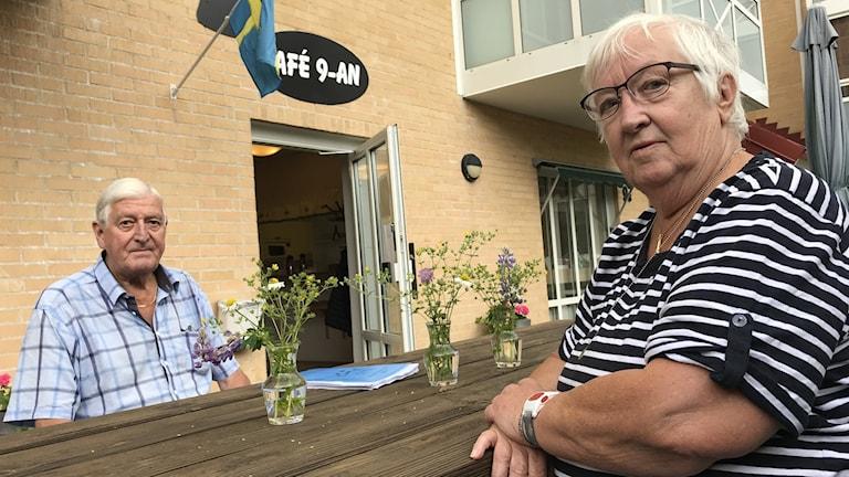 Rune Johansson och Ann-Marie Nielsen