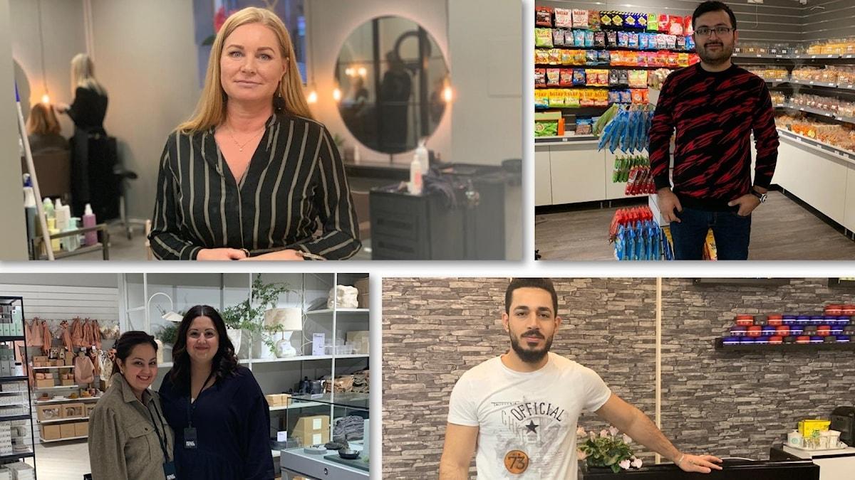 Under Coronakrisen har många butiker i Borås stängt eller gått i konkurs. Men samtidigt har också flera nya butiker öppnat i centrala Borås den senaste månaden. En av de företagare som vågat starta en ny verksamhet mitt under pandemin är frisören Katarina Brissman.