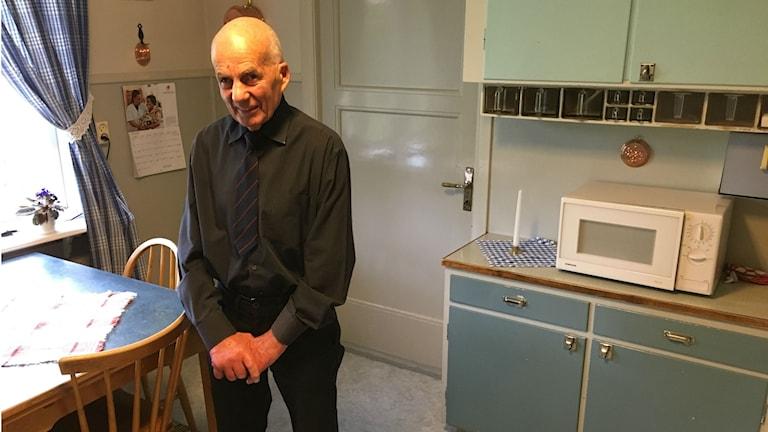 Stig Eriksson i sitt kök.
