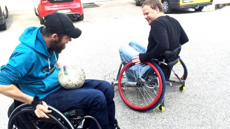 Claes Bertilsson är uttagen i Paralympics i rullstolsrugby.