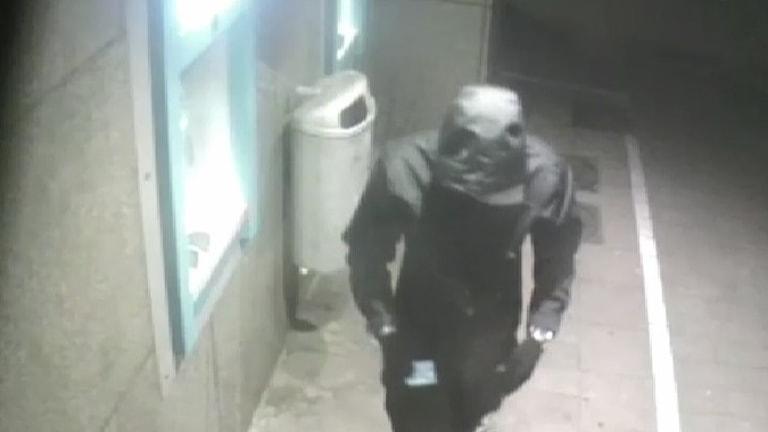 misstänkt rånare