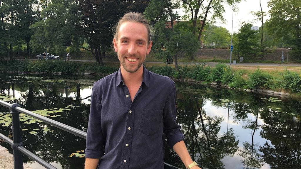 Alexander Fred-Ojala, AI-forskare på Berkley.