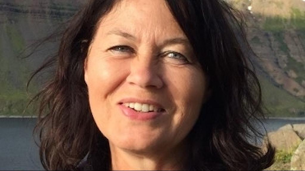 Närbild på Eva Eriksdotter