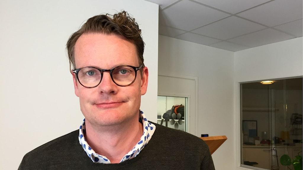Boråsaren Per Schlingmann, före detta partistrateg hos Moderaterna, numera PR-konsult och författare.