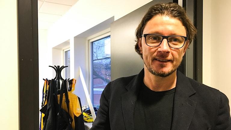 Stefan Andreasson, klubbchef i Elfsborg, på sitt kontor.
