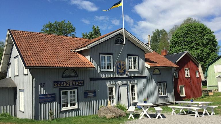 Elisabeth Hesselblads hus i Fåglavik.