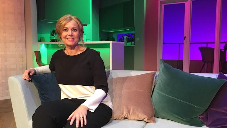 Komikern Annika Andersson är aktuell med en ny komedi på Lisebergsteatern.
