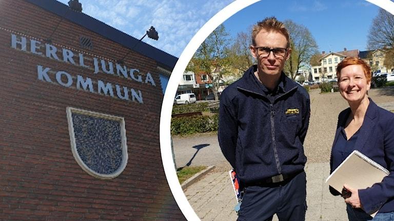 Christian Hallberg och Ior Berglund.
