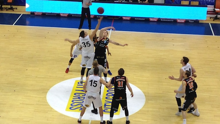Borås Basket mot Uppsala.