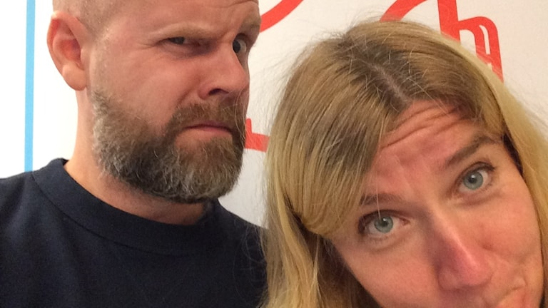 Martin Marhlo och Kristin Holmberg.