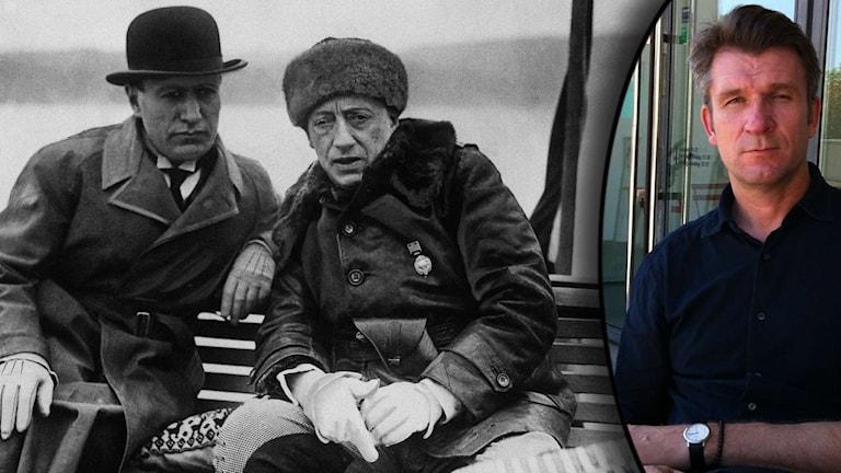 Mussolini, Gabriel d'Annunzio och Magnus Bärtås