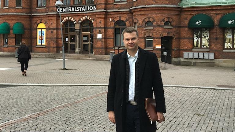 Ulf Olsson, kommunstyrelsens ordförande i Borås