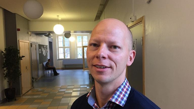 Björn Nyman, rektor på Kunskapsskolan i Borås.