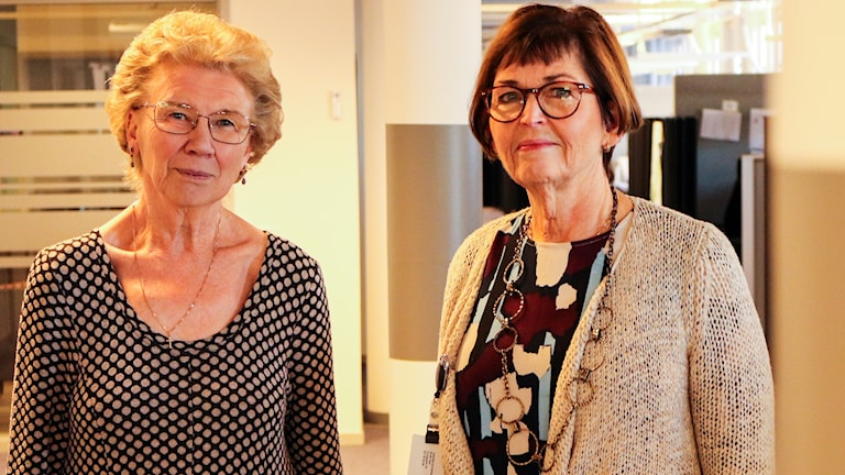Yvonne Persson (S), ordförande sociala omsorgsnämnden, Borås stad, och Monica Svensson, chef för sociala omsorgsförvaltningen, Borås stad.