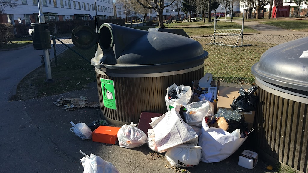 Sopor, Hässleholmen.