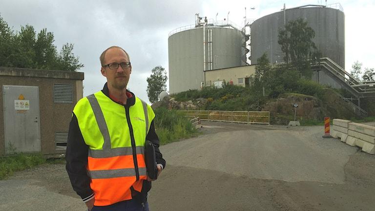 Jonas Holmberg, kommunikationschef på Borås Energi och miljö.