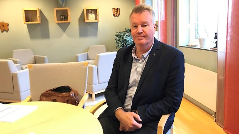 Mats Lilienberg, kommundirektör i Mark