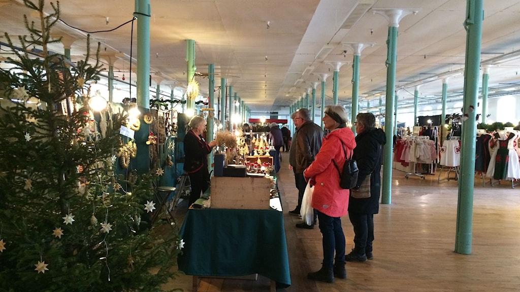 Julmässa på Rydals museum.