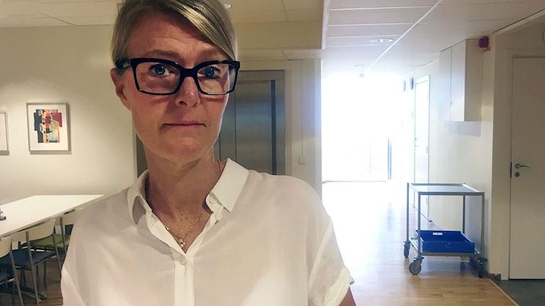 Annkristin Rolfsson, chef för Försörjningsenheten på Borås kommun.