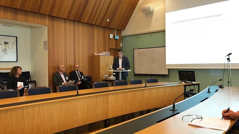 Idag presenterades utredningen om kostnadsökning för Sobacken presenterades idag.