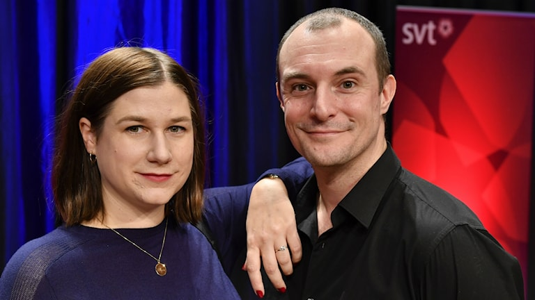 Kristin Lundell och Johan Hilton