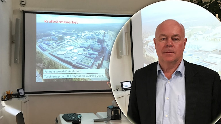 Göran Carlsson, projektchef på Borås energi och miljö.