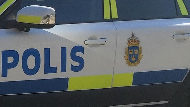 En polisbil