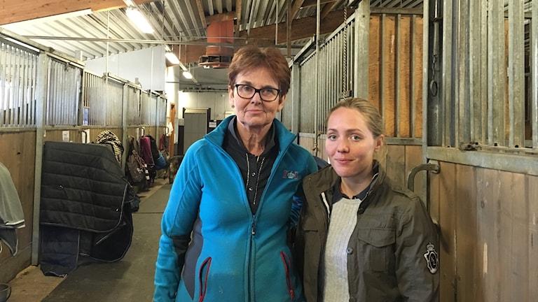 Ann-Sofie Dahlgren och Jenny Magnusson.
