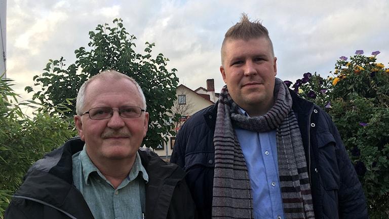 Ulf Carlsson och Hampus Haga