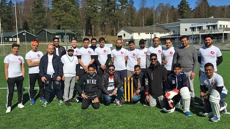 Borås cricketklubb 2017.