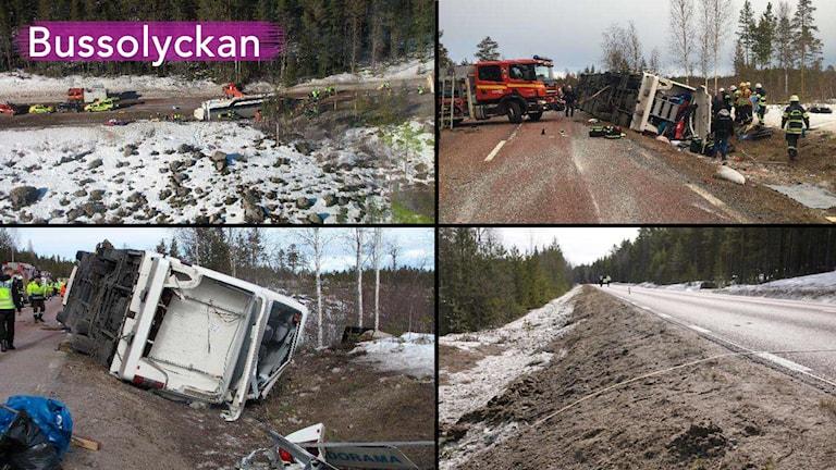 Fyra perspektiv på olyckan