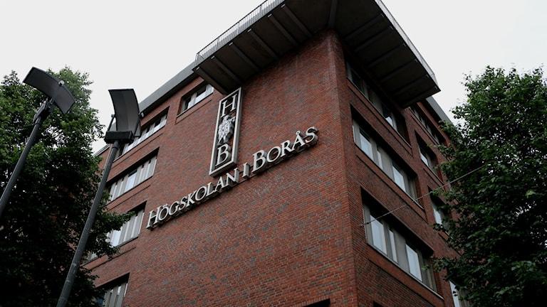 Högskolan i Borås. Foto: Eric Porali.